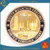 Монетка города металла заливки формы коммеморативная для промотирования
