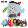 OEM Animal Shape Baby Cloth Book con Teether