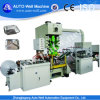 CE Quality High Speed Aluminum Foil Container Making Machine para 450 750ml para Food Packaging