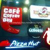 De Vorm die van de Winkel van de koffie en van het Bier Lichte Doos zuigen
