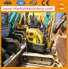 Excavador usado de la correa eslabonada de KOMATSU PC15 para la construcción