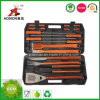 Деревянный инструмент решетки BBQ ручки