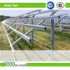 Kit del supporto di PV del comitato solare del tetto di mattonelle, supporti di attacco solari di alluminio del tetto, sistema solare del supporto
