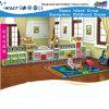 Шкаф хранения игрушек европейских детей формы городка (HB-4601)