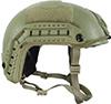 速い海上弾道ヘルメット