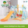 スイングで2017鹿スタイルプラスチック製の子供のスライド(HBS17006B)