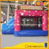 Videur sautant gonflable combiné de gâteau d'anniversaire avec la glissière (AQ07178)