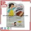 Bolso de empaquetado modificado para requisitos particulares del alimento cocido plástico del papel de la dimensión de una variable del diseño