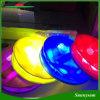 다채로운 PVC 물자 휴대용 팽창식 태양 에너지 10 LED 재충전용 야영 손전등