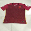 Le football rayé personnalisé bon marché Jersey de chemise du football d'hommes de sublimation