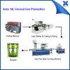 Lata de estanho automática da maquinaria redonda química da lata da pintura que faz a linha de produção