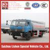 Camion de distribution de pétrole de Dongfeng camion-citerne aspirateur d'essence de 9000 litres