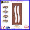 유리제 삽입 MDF 나무로 되는 PVC 여닫이 문