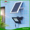 IP65は屋外の庭のスポットライト120LEDの高い内腔夜センサーの太陽フラッドライトを防水する