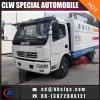 Carro del barrendero de calle del carro del producto de limpieza de discos de calle de Dongfeng 6000L 7000L