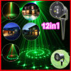 luci laser di 12in1 Christmas Light Stage Lights Outdoor Lighting