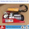 Der bewegliche Minityp elektrische Drahtseil-Hebemaschine