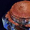 Perlas rojo marrón del lustre de la mica de la chispa, pigmento de los azulejos de suelo