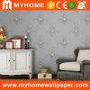 Papier peint décoratif de vinyle de chambre à coucher classique de fleur