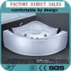 Massaggio Bathtub/Water Surfing Massage Bathtub/Luxury Whirlpool Massage Tub (521A)