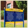 Hochschulrasen-Methode-Findener Zeichen-Vorstand