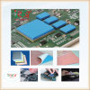 400X200X1mm rosafarbenes Silikon-thermisches Auflage-Abkühlen