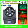 6PCS 15W RGBW 4in1 DEL Beam Moving Head Lighting