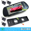 Kfz-Kennzeichen Frame Car Camera mit Monitor und Parking Sensor