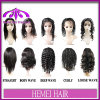 Hemei Hair Front Lace Wig와 Full Lace Wig 100%년 Virgin Remy Hair