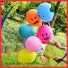 Runde Form-Lächeln-Gesichts-Drucken-Helium-aufblasbarer Latex-Ballon mit Stock und Cup
