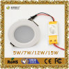 CE&RoHSの12W LED Downlight