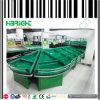 Supermarkt-Gemüsefrucht-Acrylbildschirmanzeige-Zahnstange