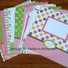 12 papel decorativo do desenhador do Scrapbook do bebê de X12 DIY