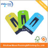 Étiquette chaude de coup de Cardpaper de vente pour l'étiquette de coup d'impression adaptée aux besoins du client par vêtements