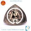 Подгонянное античное медное мягкое медаль сувенира героя эмали в личной конструкции