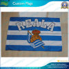 el 100X150cm Rayas Reala Footall Basketball Club Fans Custom Flags (T-NF01F09032)