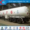 Aanhangwagen 3 van de Tank van LPG van Asme Standaard de Aanhangwagen van LPG van de As