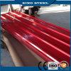 Colorear la hoja galvanizada acanalada revestida del material para techos del metal