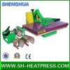 2 en 1 máquina de alta presión de la prensa del calor con el accesorio de la prensa del calor de la taza