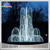Luzes de Natal ao ar livre do diodo emissor de luz da caraterística da água do projeto da fonte