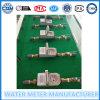 Medidores de água pré-pagos com cartão de RF