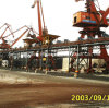 Ленточный транспортер стандарта DIN/Cema/ASTM/Sha ухудшающийся/склонил транспортер/транспортер высокого угла