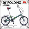 20 Drehzahl-faltendes Fahrrad Inch-China-6 (WL-2001-2)