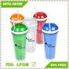 Горячее сбывание BPA освобождает пластичную чашку заедк с сторновкой
