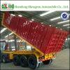 40 반 FT 3axle 콘테이너 평상형 트레일러 덤프 트럭 트레일러