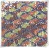 Ткань вышивки с цветастым Patches-Flk305
