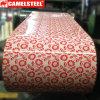 Катушка покрытия стального листа цвета конструкции картины цветка стальная