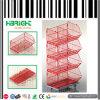 Cage de treillis métallique de promotion pour le supermarché