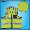 Bolso de cartão compreendendo a veste reflexiva do aviso da segurança (R188-1)