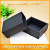 Boîte-cadeau de papier noire de papier d'emballage